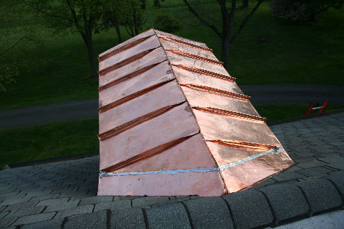 Seam roof for Copper standing seam roof