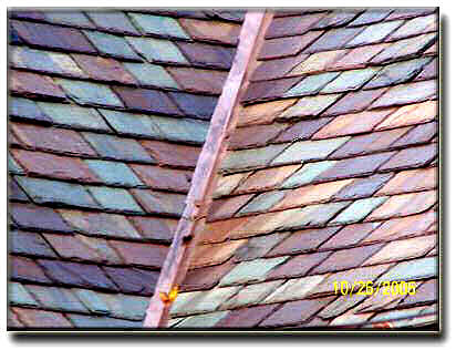 Colors Colors Colors of Recycled slate roof