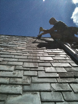 Slate Roofing And Chimney Repair Company Yardley Pa Contractor